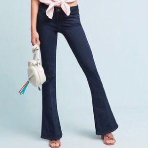 Paige NWT Lou Lou midrise skinny flare Jeans